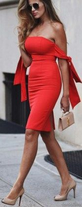88 Elegant Red Dress Ideas Make You Look Sexy