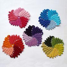 crochet motif - free chart here  http://www.pinterest.com/pin/427419820856765530