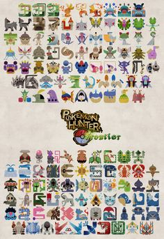 Pokemon Hunter Frontier Poster by Gryphon-Shifter.deviantart.com on @DeviantArt