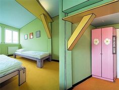 Someone accidentally put a borderland shader in his bedroom !