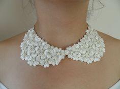 retro collar peter pan collar necklaces pendants by WEDDINGHome, $20.00