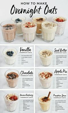 Good Healthy Recipes, Healthy Drinks, Healthy Carbs, How To Eat Healthy, Easy Healthy Lunch Ideas, Healthy Oatmeal Recipes, Healthy Toddler Meals, Protein Shake Recipes, Healthy Food Prep