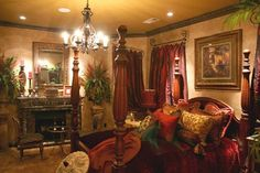 Bedroom Photos Old World,tuscan,mediterranean,spanish Peaceful sleep Tuscan Design, Tuscan Style, Bedroom Photos, Home Bedroom, Bedroom Ideas, Tuscan Bedroom Decor, Master Bedrooms, Bedroom Designs, Master Suite