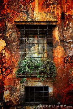 Ventana italiana vieja
