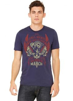 All Men Are Created Equal But Only The Best Are Born In March Tshirt