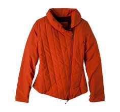 FUN COLOR for a jacket! Reddish orange is perfect for fall.  Parfait Jacket | Womens Tops | prAna