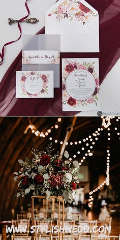 burgundy and blush floral wedding invitation with vellum pocket and belly band SWPI003 #wedding#weddinginvitations#stylishwedd#stylishweddinvitations #vellumweddinginvitations