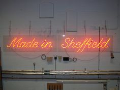 Made in Sheffield - that's me tha' knows