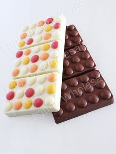 Monique Polycarbonate Chocolate Bar Mold Dotted Circle…