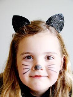 Cat ears headband Halloween Cat, Halloween Outfits, Cat Ears Headband, Alice Band, Black Costume, Animal Ears, Catwoman, Hair Band, Hair Accessories
