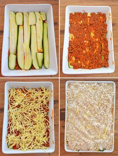 Zucchini Bake - super easy family meal