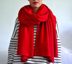 Riesen Schal XL von mien MAJAmien // Accessoires made in Berlin auf DaWanda.com