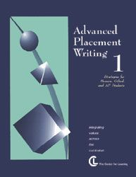 Advanced Placement Writing 1 lesson plans, teach Advanced Placement Writing 1, Advanced Placement Writing 1 teacher resource, AP writing 1 l...
