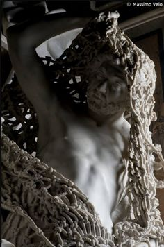 francesco queirol disillusion marble sculpture netting 3 This Tiny Chapel is Home to Some of the Greatest Marble Sculptures in History Giuseppe Sanmartino, Anne Bonny, Baroque Sculpture, Naples, Photo S, Sculpting, Bronze, Carving, History
