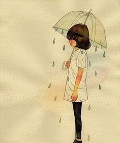 I remember as a young girl, playing outside with my grandmothers clear umbrella...cherished memories...