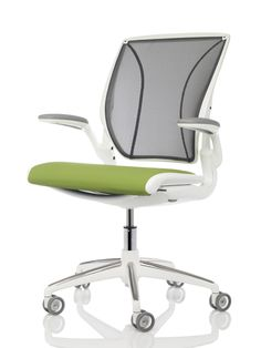 The environmental impact of the Diffrient World chair is roughly half that of an   average task chair.