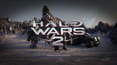 Ekran startowy w Halo Wars 2.