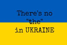 "No ""the"" in Ukraine.  True, but it's very difficult to say the word in a sentence without it.  Try it for yourself!"