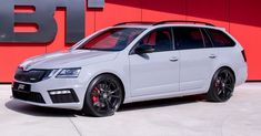 Best Auto Tuning Style : Illustration Description ABT's Skoda Octavia RS Debuts With Nardo Grey, Wagon Cars, Audi Rs6, Shooting Brake, Car Car, Hot Cars, Luxury Cars, Super Cars, Automobile