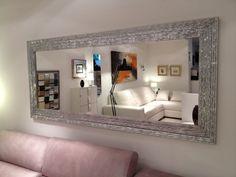 marcos de espejos modernos - Buscar con Google Living Room Decor Cozy, Shabby Vintage, Home Projects, Modern Design, Sweet Home, Interior Design, House, Inspiration, Furniture
