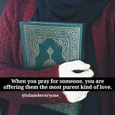 The purest kind of love is praying for someone. ❤️ Who do you pray for? #Prayer #Dua #Islam