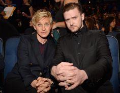 Justin Timberlake & Ellen DeGeneres