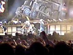 Rock n roll train.AC/DC Wellington, New Zealand, 30 January 2010, Westpac Stadium.