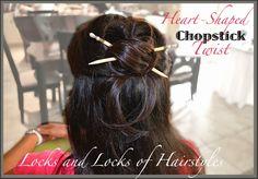 Beautiful Hairstyles: Chopstick Twist
