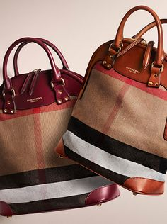 I just love this Burberry tote. It's modern, it's roomy .only $115. #Burberry #Bags
