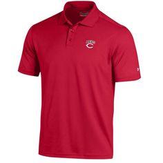 Cincinnati Reds Under Armour Performance Polo - Red