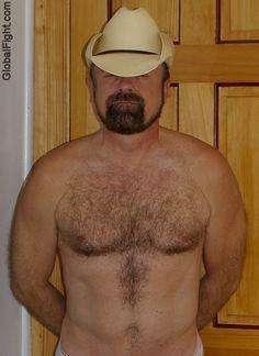 a cowboy gay redneck bear