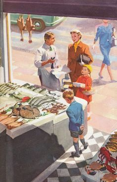 The Age of Uncertainty: The Ladybird Book of the Recession - Part Two Gravure Illustration, Retro Illustration, Vintage Books, Vintage Art, Vintage Paintings, Norman Rockwell Art, Ladybird Books, Old Advertisements, Illustrations Posters