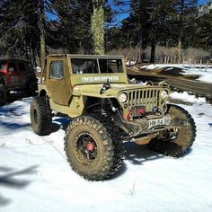 Just a normal Michigan guy... I like Jeeps, offroading, guns, hunting, the country life and...umm......