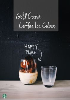Try putting brewed coffee in your ice cube trays. When they melt in your drink, they add coffee flavor instead of watering it down.