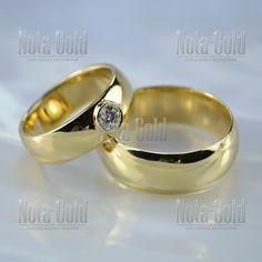 Глянцевые обручальные кольца с крупным бриллиантом 2,5 мм (Вес пары  11 гр 1ba870bbc18
