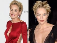 Sharon Stone Pixie Haircuts