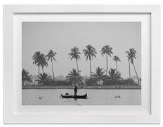 Fisherman and His Canoe - Minted-Domino - $21.00 - domino.com