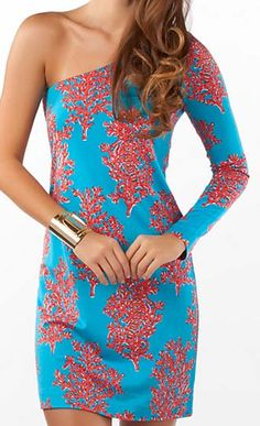 Whitaker Dress- I like the one sleeve