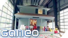 Diese Familie wohnt in einem kleinen Haus in einem großen Haus | Galileo...