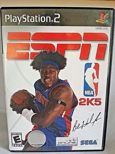 ESPN NBA 2K5 (Sony PlayStation 2, 2004) PS2 Video Game