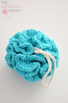 Puffy Bath Pouf / easy / FREE CROCHET pattern
