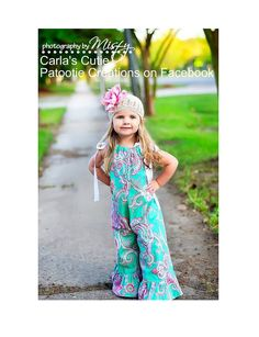 Whimsey Couture Pillowcase Romper. Also, do you think I can alter it and make and adult size? ;)