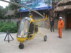 Vietnam Homebuilt copter