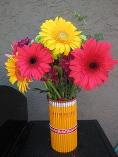 Pencil Vase for teacher