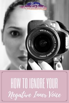 """How often do you catch yourself thinking, """"I'm not ...""""? Here are some great tips to boost self esteem and ignore your inner critic."""