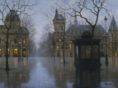 """Alexie Butirskiy """"April in Paris""""  This is giving me a nostalgic feeling..But I've never been to Paris.."""