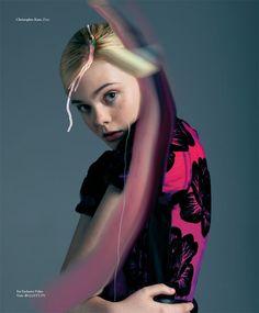 Elle Fanning Gets Surreal for Bullett Magazine's Winter 2012 Cover Shoot
