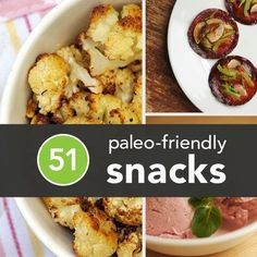 Eating like a caveman (or woman) is an increasingly popular road to healthier food intake, but cravings can affect even the most disciplined. So we've rounded up our favorite Paleo-friendly, healthy snack recipes to satisfy any palate when hunger strikes. - from @Greatist