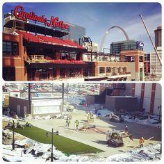 Cardinals Ballpark Village St. Louis