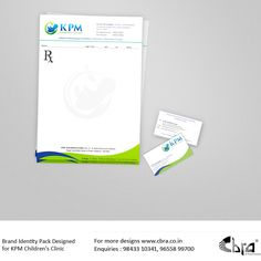 Children's Clinic, Brand Identity Pack, Packing, Personal Care, Bag Packaging, Self Care, Personal Hygiene, Brand Identity Design